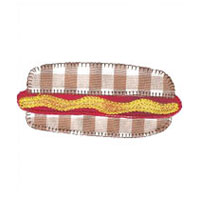 Applique de Hot Dog