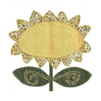 Applique Sunflower