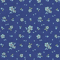 Tecido - Mini Flores 01 - Holly Robby Cotton
