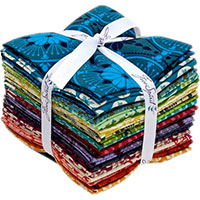 Tecido - Fat Quarter - True Colors - Anna Maria