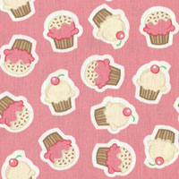 Tecido - Cup Cake 02 - Pillows