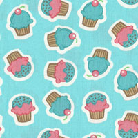 Tecido - Cup Cake 01 - Pillows