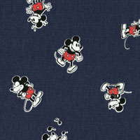 Tecido - Mickey Poses - Walt Disney