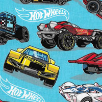 Tecido - Hot Wheels - Diversos