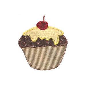 Applique de Cup Cake