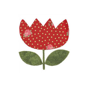 Applique Tulip