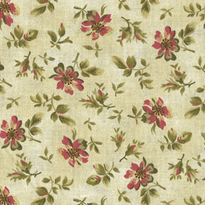 Tecido - Mini Flores 02 - Tapestry Flowers
